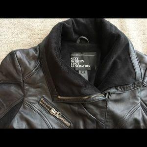 Urban Behavior Leather Jacket